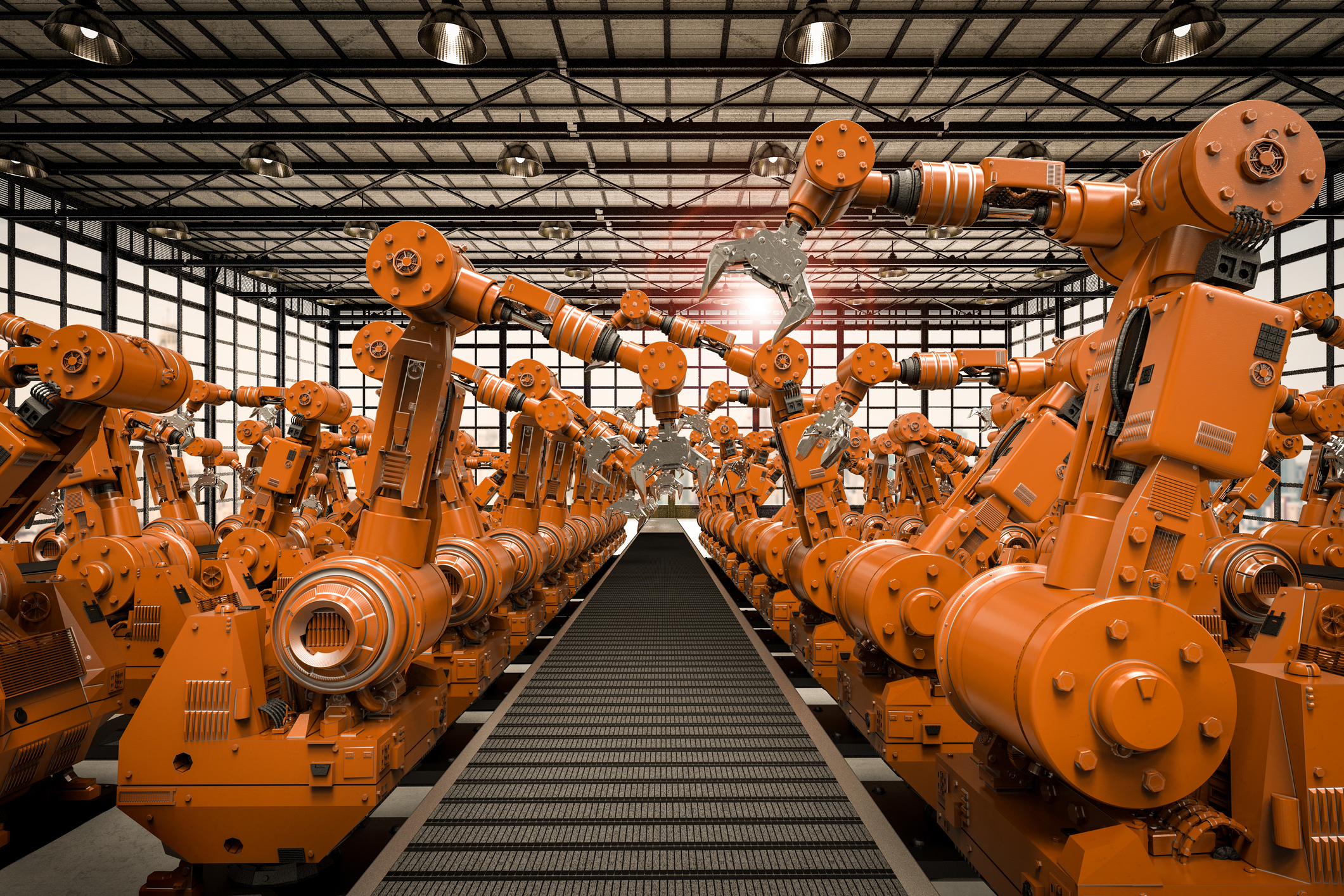 Robotic Application of Anti-Microbial Copper Coatings